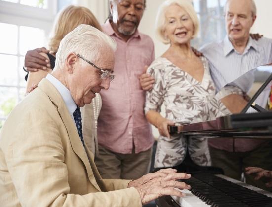 Les bienfaits de la musique en maison de retraite