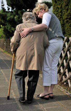 Personne âgée Alzheimer