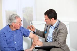 Baisse de la vaccination des séniors