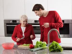 Les accidents domestiques et les personnes âgées