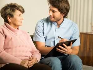 L'accueil en maison de retraite