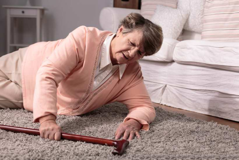 La personne âgée et le risque de chute