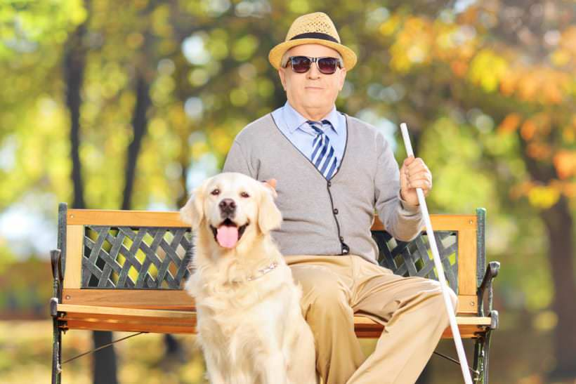La prise en charge des malvoyants en maison de retraite