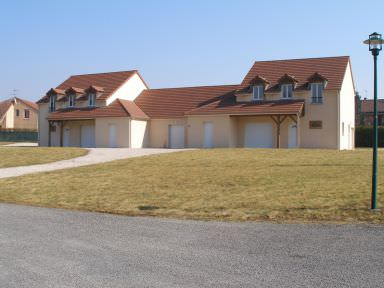 Villa les Mandarines de Montpont En Bresse