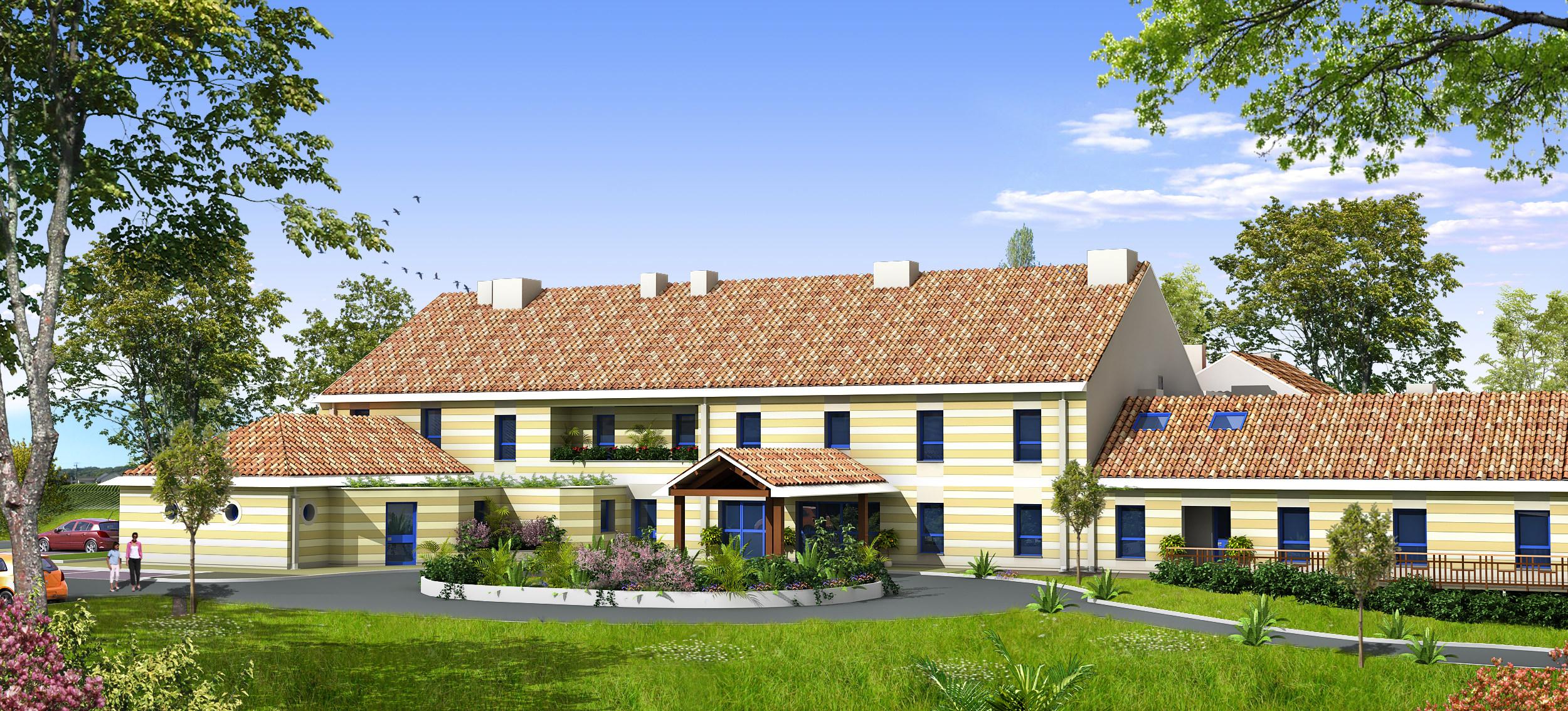 Maisons de retraite les eaux vives souilly souilly 55 for Animateur maison de retraite