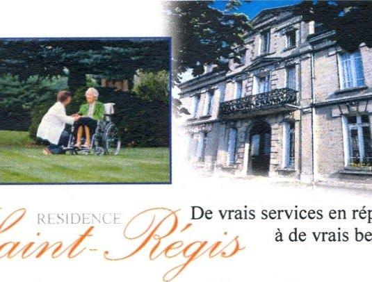 maison de retraite de Residence Saint Regis