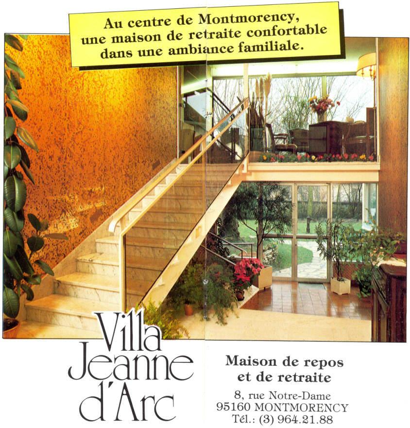 maison de retraite villa jeanne d arc montmorency 95. Black Bedroom Furniture Sets. Home Design Ideas