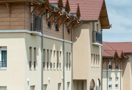 maison de retraite de Residence de Courcelles