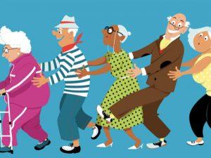 Les résidents mannequins d'un jour à la maison de retraite de Terville