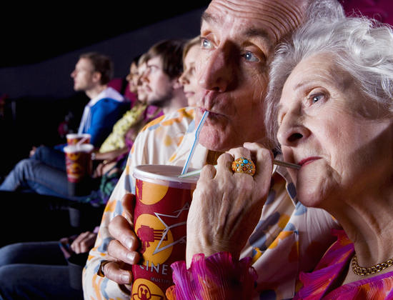 La maison de retraite fait son cinéma