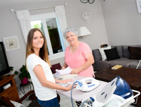 L'aide sociale départementale pour les personnes âgées à domicile