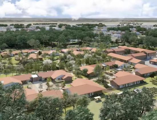 Un village Alzheimer en construction dans les Landes
