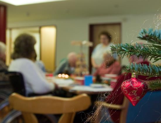 Ces activités qui font de l'Ehpad un lieu de vie chaleureux à Noël