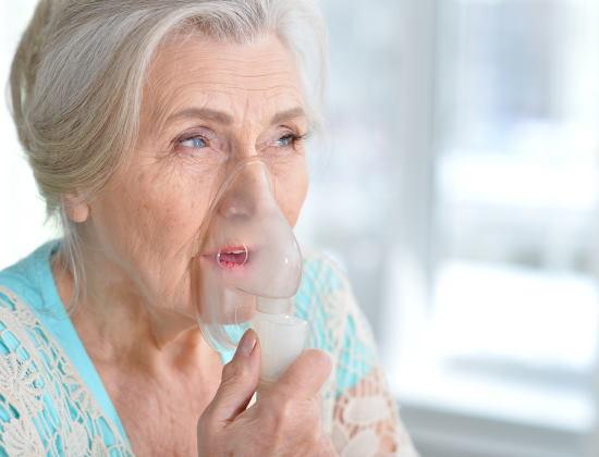 L'asthme chez les personnes âgées