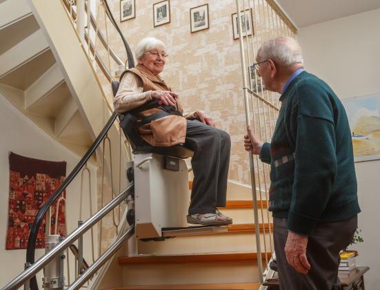Monte-escalier, un équipement clé du maintien à domicile