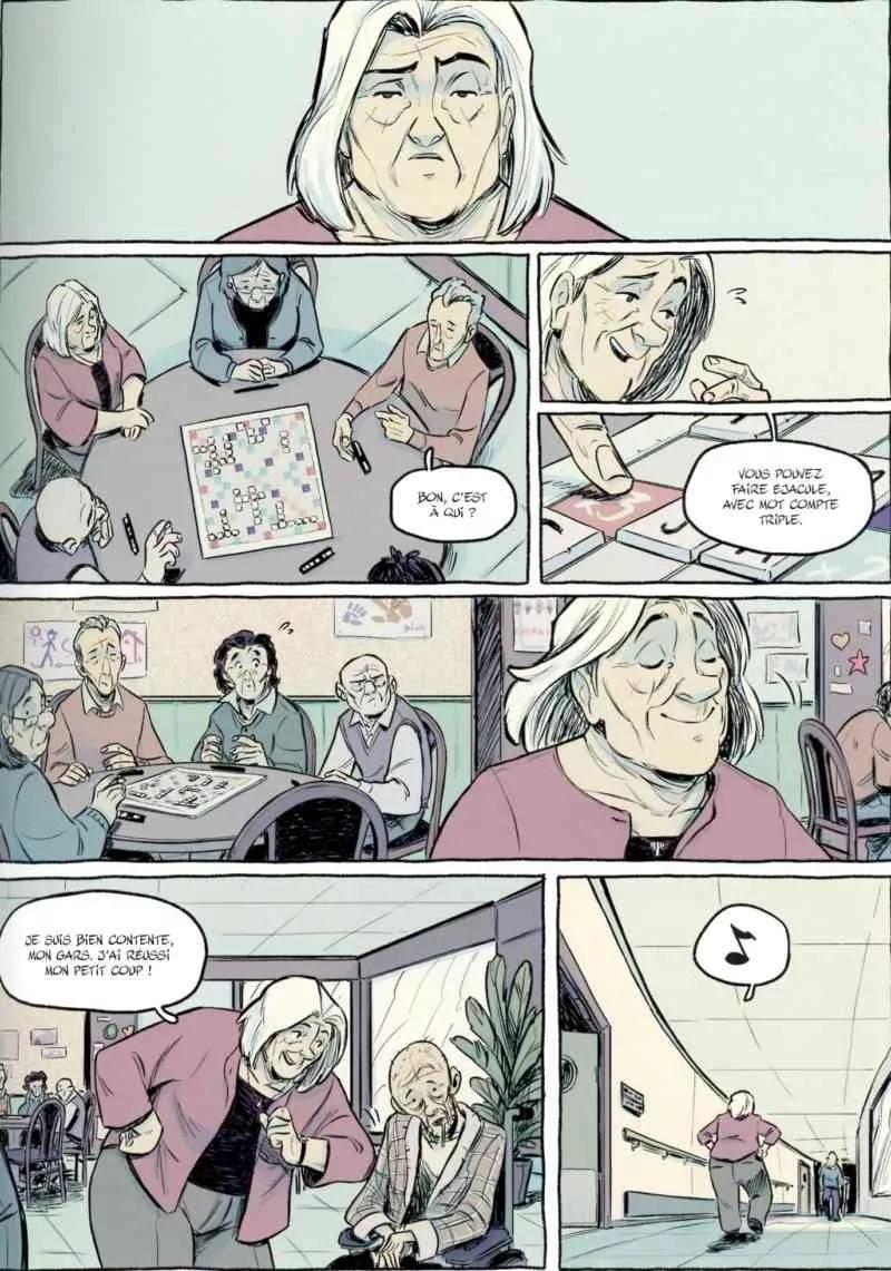 Page de la BD le Plongeon